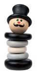 Погремушка «Клоун черно-белый», Наре арт. 0012