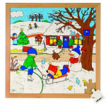 Пазл «Зима», серия «Времена года»  Educo арт. 522626