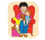 Многослойный пазл «Бабушка» Educo арт. 522011