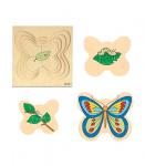 Многослойный пазл «Бабочка» Educo арт. 522014