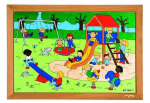 """Пазл «Игровая площадка», серия """"Занятия для детей"""", Educo, арт. 522573"""