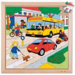 Пазл «Уличное движение», серия «Транспорт»  Educo арт. 522070