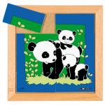 Пазл-квадратики «Панда» Educo арт. 522278