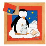 Пазл - квадратики «Пингвины», Educo, арт. 522282