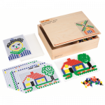 Развивающая игра «Мозаика – 10 мм», Educo арт.522333