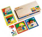 Набор из 8 пазлов в боксе «Дети и животные»  Educo арт. 522346