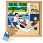 Пазл «У дантиста», серия «Мое здоровье»  Educo арт. 522551