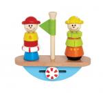 Развивающая пирамидка-балансир «Кораблик», Наре арт. 0423