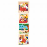 4-х слойный пазл «Распорядок дня» Educo арт. 523060