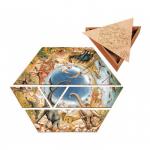 Напольный пазл-треугольник «Динозавры», Educo арт. 384900