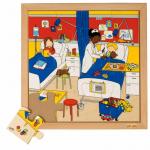 Пазл «В госпитале», серия «Мое здоровье»  Educo арт. 522554