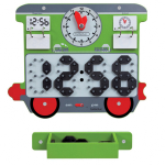 "Настенная игра ""Поезд.Часы"", Beleduc, арт. 23642"