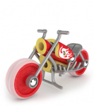 Мотоцикл «Чоппер», Hape арт. 5513