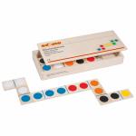 Развивающая игра «Цветное домино», Educo, арт.  523238