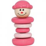 Погремушка «Весёлый клоун», розовый, Наре арт. Е0006А