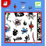 """Татуировки  """"Пираты"""", DJECO арт.09571"""