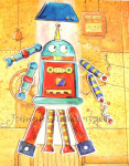 Магнитная игра «Собери робота», EGMONT, арт. R630655