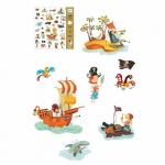 "Наклейки  ""Пираты"", DJECO арт. 08839"