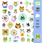 "Наклейки  ""Кошки"", DJECO арт. Q8849"