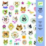"""Наклейки  """"Кошки"""", DJECO арт.08849"""
